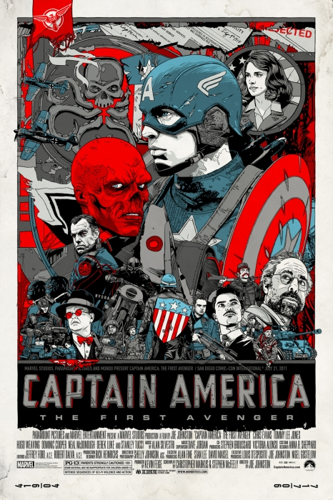 Captain America Poster