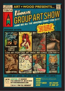 Art+Wood Group Art Show